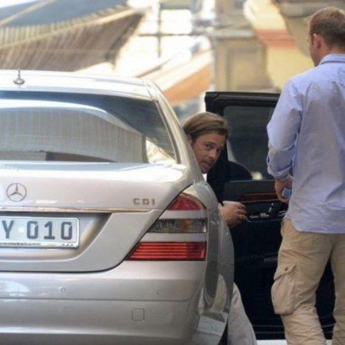 Brad Pitt Nicks Chauffeur Service